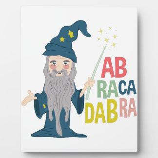 Abracadabra Photo Plaques