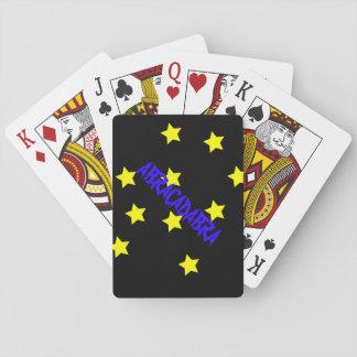 """ABRACADABRA"" Playing Cards"