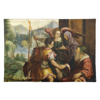 Abraham Dismisses his Son Ishmael by Jan Soens Placemats