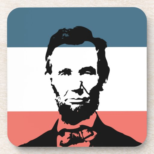 Abraham Lincoln 16th President Coasters
