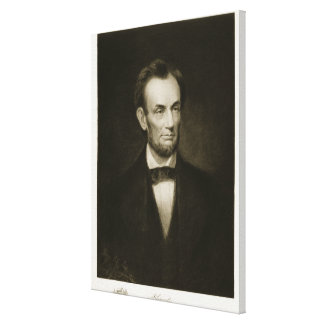 Abraham Lincoln, 16th President of the United Stat Stretched Canvas Print