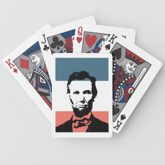 Abraham Lincoln 16th President Bicycle Poker Cards