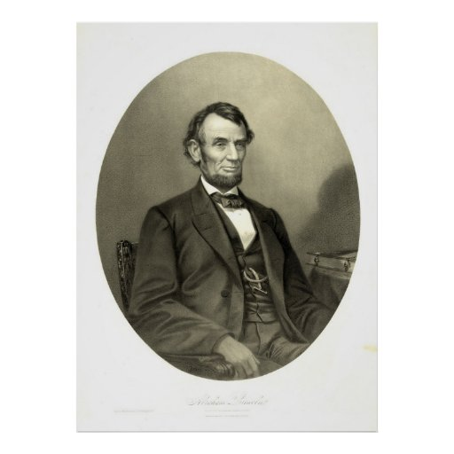 Abraham Lincoln 1865 Posters
