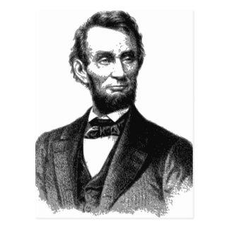"Abraham Lincoln 1865 ""The great emancipator"" Postcard"