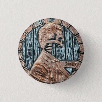 Abraham Lincoln 2 3 Cm Round Badge