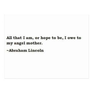 Abraham Lincoln 3 Postcard