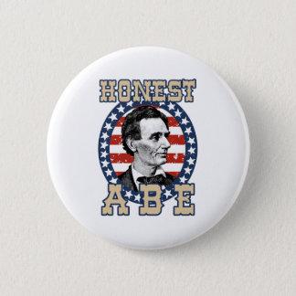 Abraham Lincoln 6 Cm Round Badge