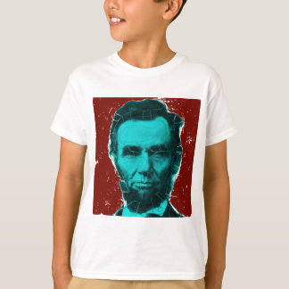 Abraham Lincoln Art Shirt--Unique Design T-Shirt