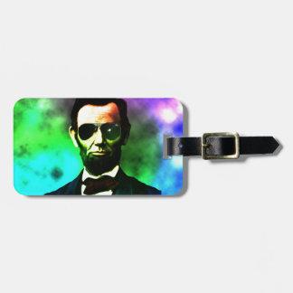 Abraham Lincoln Bag Tag
