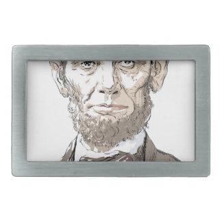 Abraham Lincoln Belt Buckles