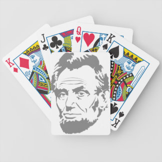 Abraham Lincoln Bicycle Playing Cards