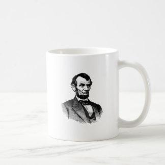 Abraham Lincoln - black and white drawing Coffee Mug