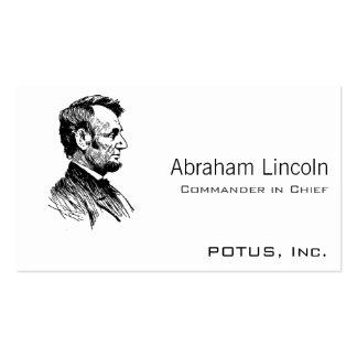 Abraham Lincoln Business Cards