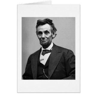 Abraham Lincoln Card