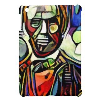 Abraham Lincoln digital colourful painting iPad Mini Cover