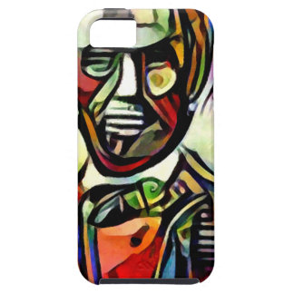 Abraham Lincoln digital colourful painting iPhone 5 Case