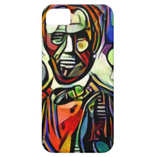 Abraham Lincoln digital colourful painting iPhone 5 Cover