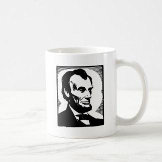 Abraham Lincoln Drawing Coffee Mug