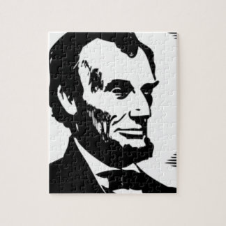 Abraham Lincoln Drawing Jigsaw Puzzle