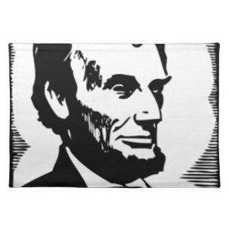 Abraham Lincoln Drawing Placemat