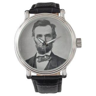 Abraham Lincoln Gettysburg Portrait Watch