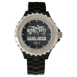 Abraham Lincoln Gym Humor - Deadlift Wrist Watches
