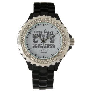 Abraham Lincoln Gym Humor - Deadlift Wristwatch