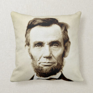 Abraham Lincoln - Honest Abe Cushion