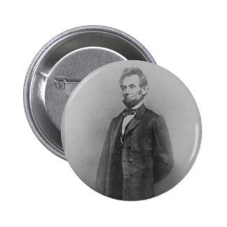 Abraham Lincoln, January 1864 6 Cm Round Badge