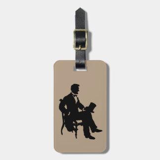 Abraham Lincoln Luggage Tag