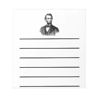 Abraham Lincoln Notepad