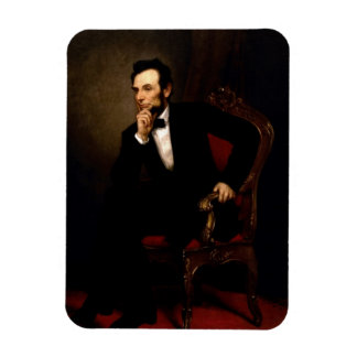 Abraham Lincoln Official Portrait Magnet