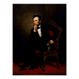 Abraham Lincoln Official Portrait Poster