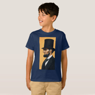 Abraham Lincoln Original Artwork Kid's T-Shirt