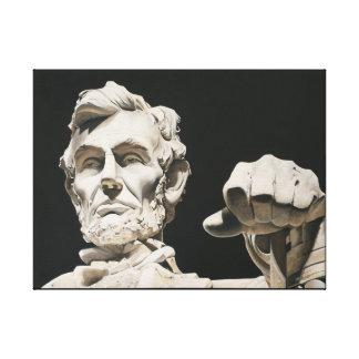 Abraham Lincoln Original - Contemplation Canvas Print