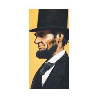 """Abraham Lincoln - Original """"Field Trip"""" Canvas Print"""