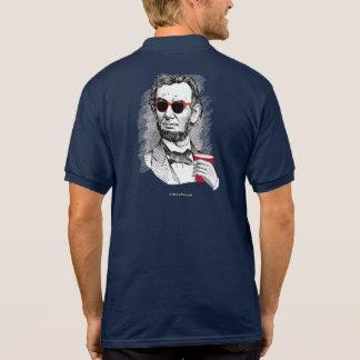 Abraham Lincoln Party Animal Polo Shirts