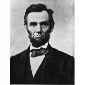 Abraham Lincoln Standing Photo Sculpture