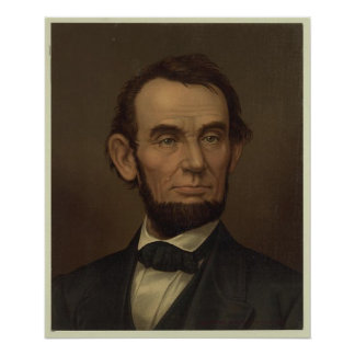 Abraham Lincoln Picture Framed Poster