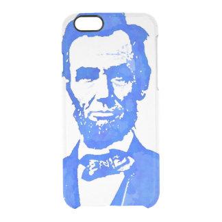 Abraham Lincoln Pop Art Portrait Clear iPhone 6/6S Case