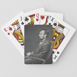 Abraham Lincoln Portrait Art Playing Cards