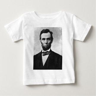 Abraham Lincoln Portrait by Alexander Gardner Baby T-Shirt