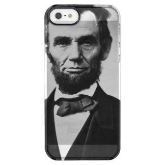 Abraham Lincoln Portrait Clear iPhone SE/5/5s Case