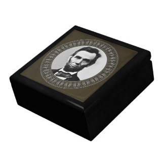 Abraham Lincoln Portrait Gift Box