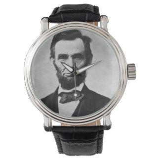 Abraham Lincoln Portrait Wrist Watches