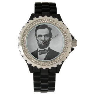 Abraham Lincoln Portrait Wristwatch