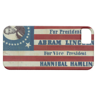 Abraham Lincoln Presidency Campaign Banner Flag iPhone 5 Case