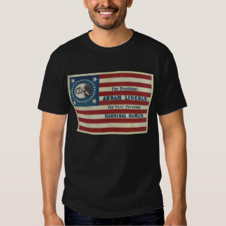 Abraham Lincoln Presidency Campaign Banner Flag Tees