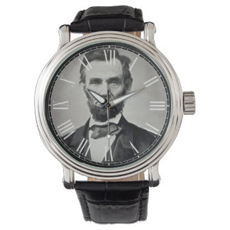 Abraham Lincoln President Vintage Watch