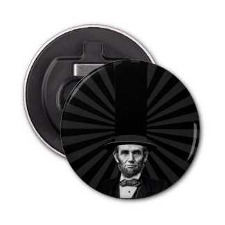 Abraham Lincoln Presidential Fashion Statement Bottle Opener